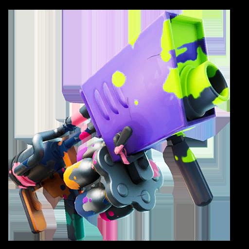 Purple Paint Launcher