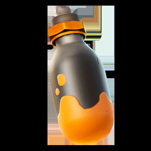 Orange Paint Grenade