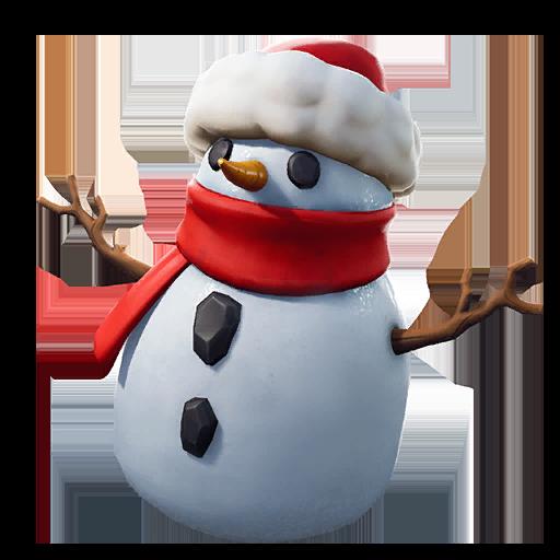 Sneaky Snowman