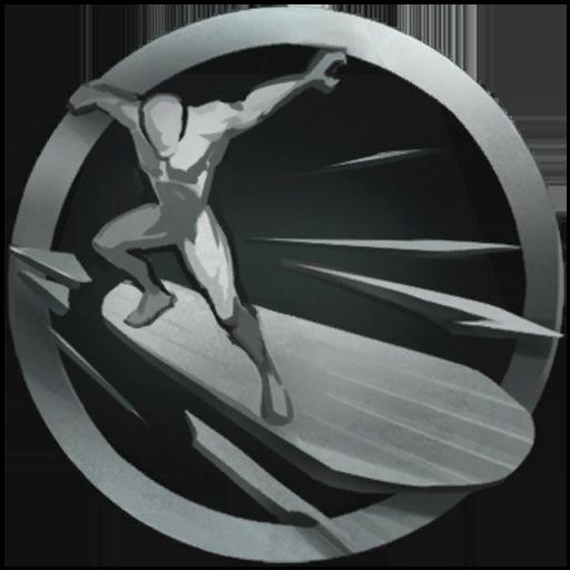 Silver Surfer's Board
