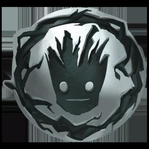 Groot's Bramble Shield