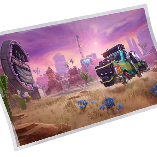 Fortnite Hit the Road loadingscreen