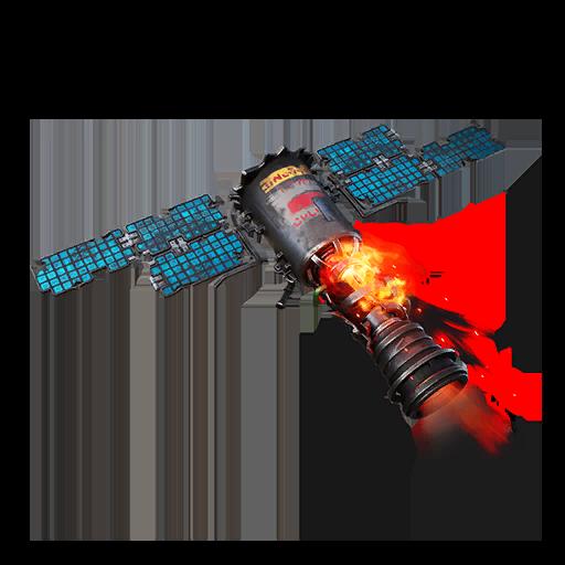 Crashing Satellite