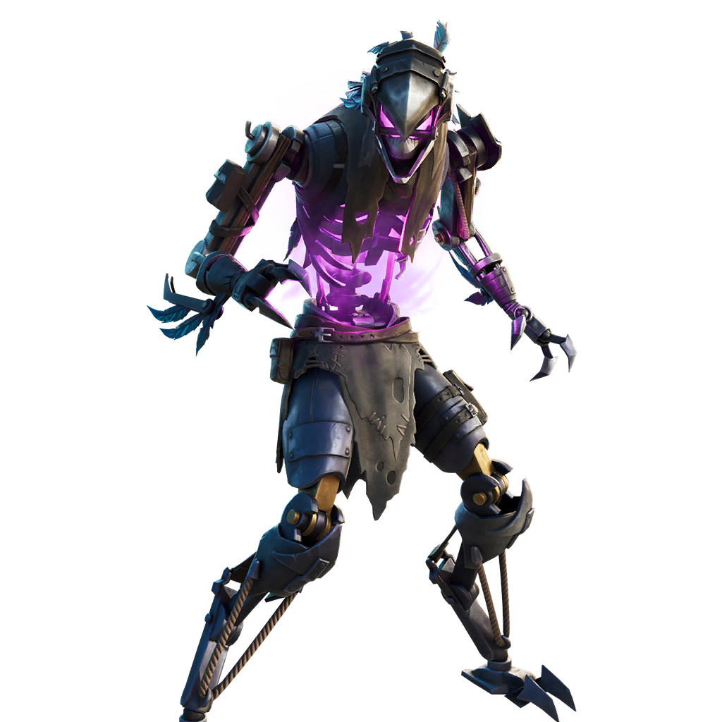Fortnite Grave Feather Outfit Skin