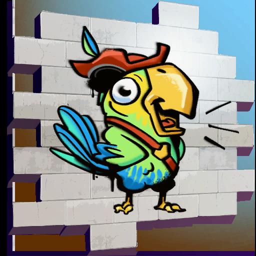 Fortnite Pirate Parrot spray