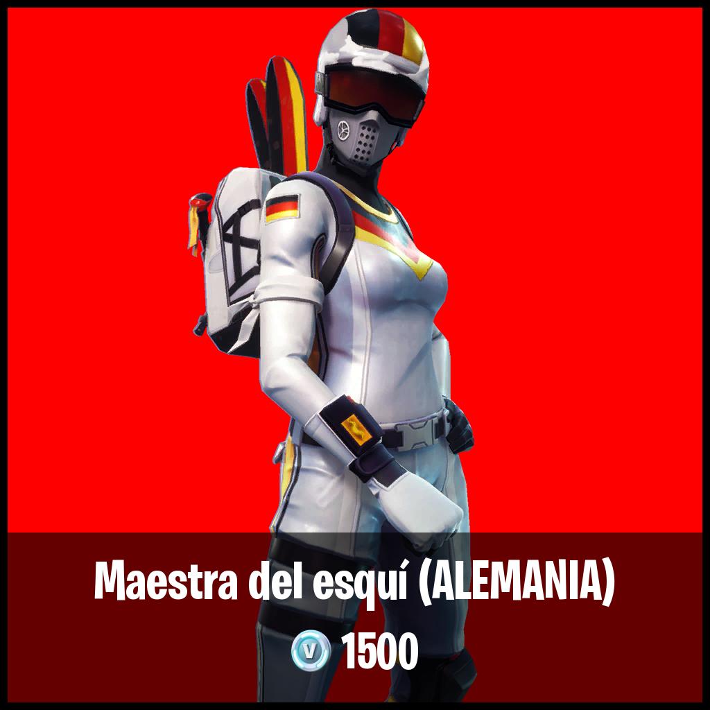 Maestra del esquí (ALEMANIA)
