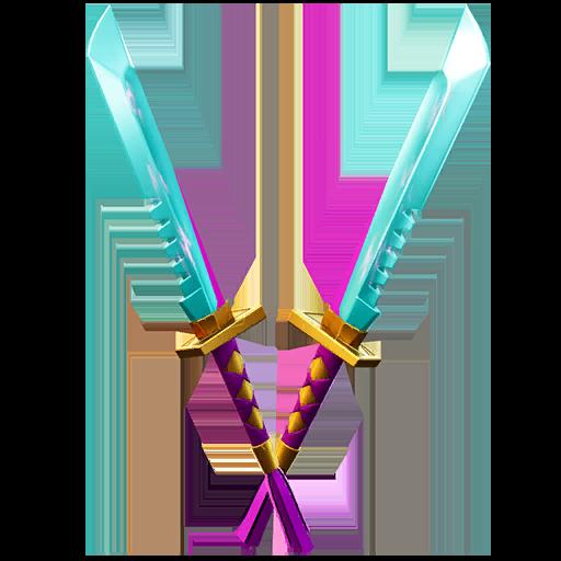 Fortnite Light Knives pickaxe