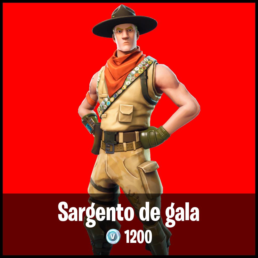 Sargento de gala