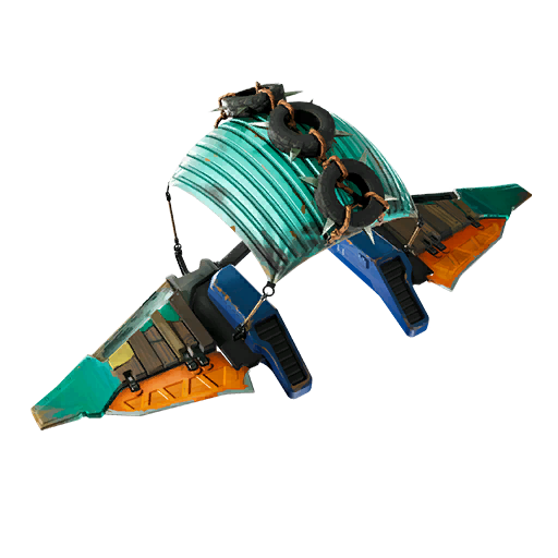 Fortnite Dumpster Flier glider