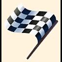 Fortnite Checkered Flag emoji