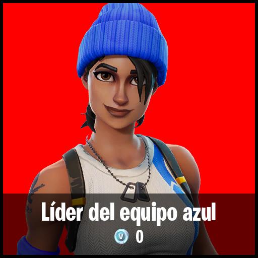 Líder del equipo azul