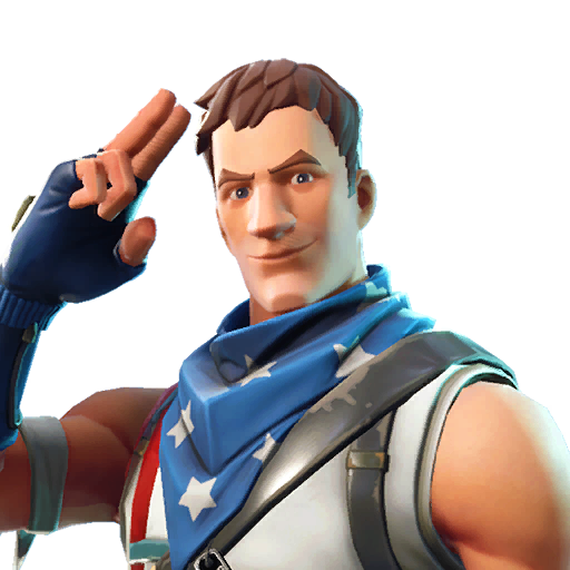 Fortnite Star-Spangled Trooper outfit
