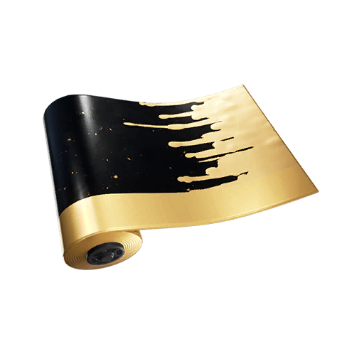 Fortnite Melty Gold wrap