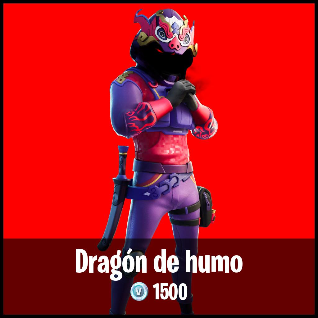 Dragón de humo