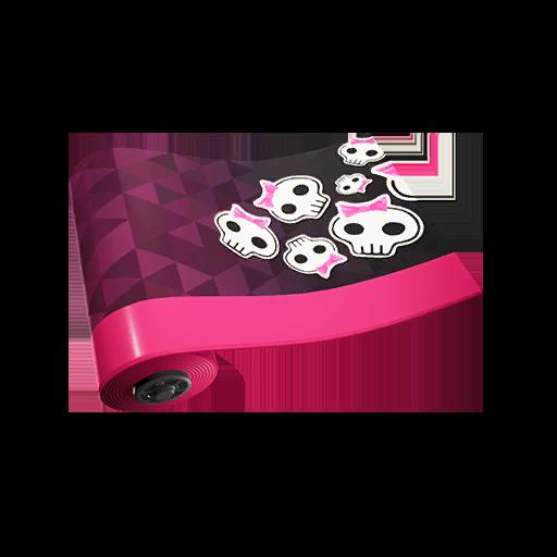 Fortnite Sweety Skull wrap