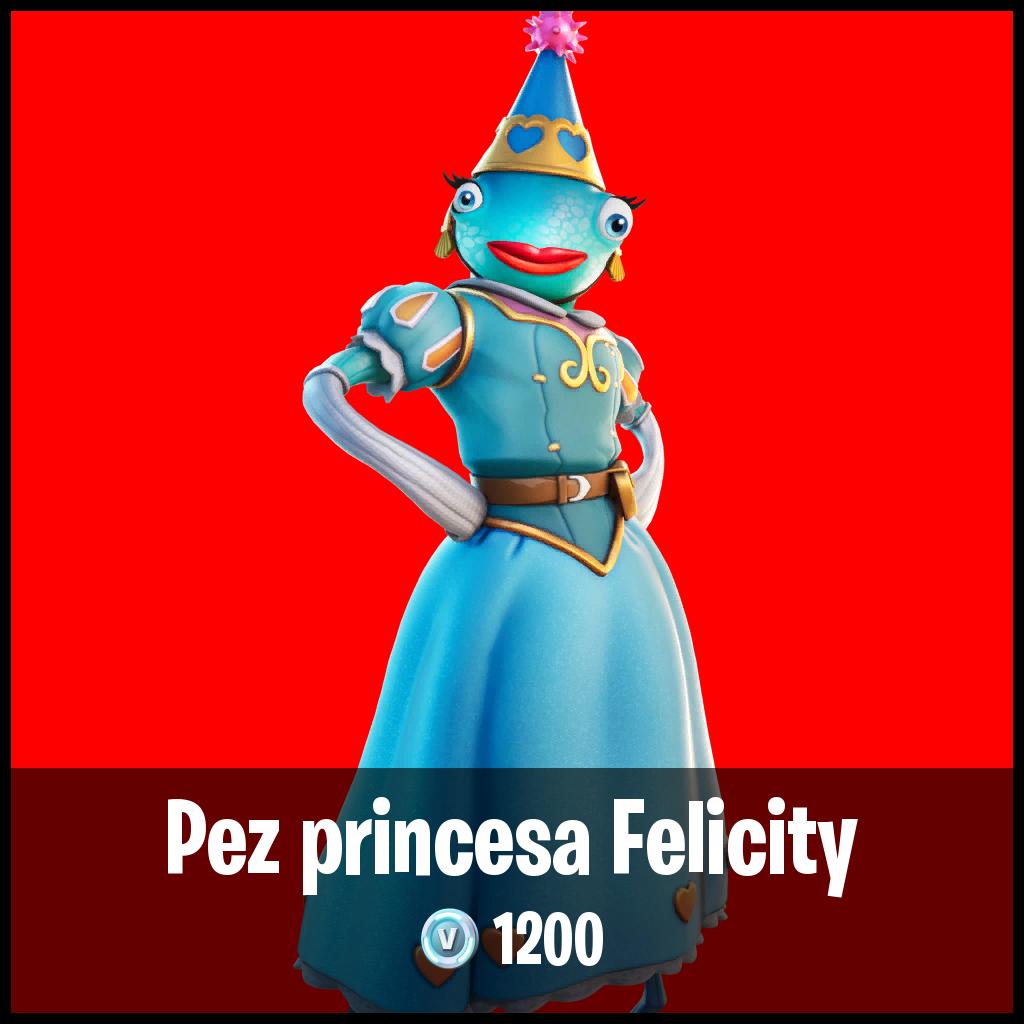 Pez princesa Felicity