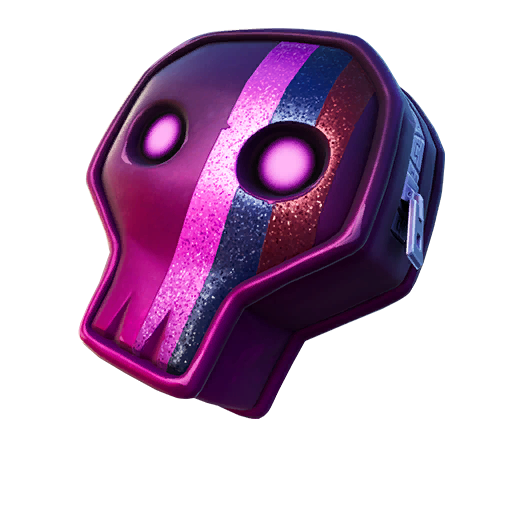 Fortnite Dark Skully Satchel Backpack Transparent Image