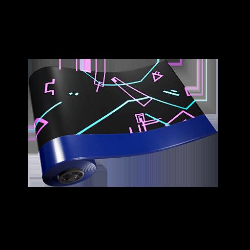 Fortnite Black Violet wrap