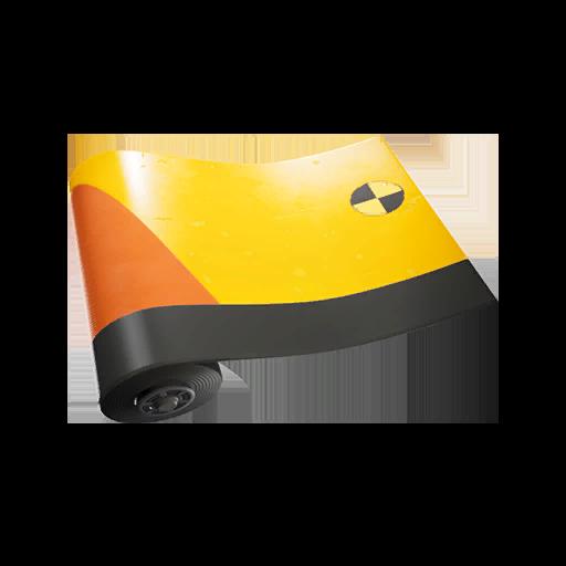 Fortnite Crash Test wrap