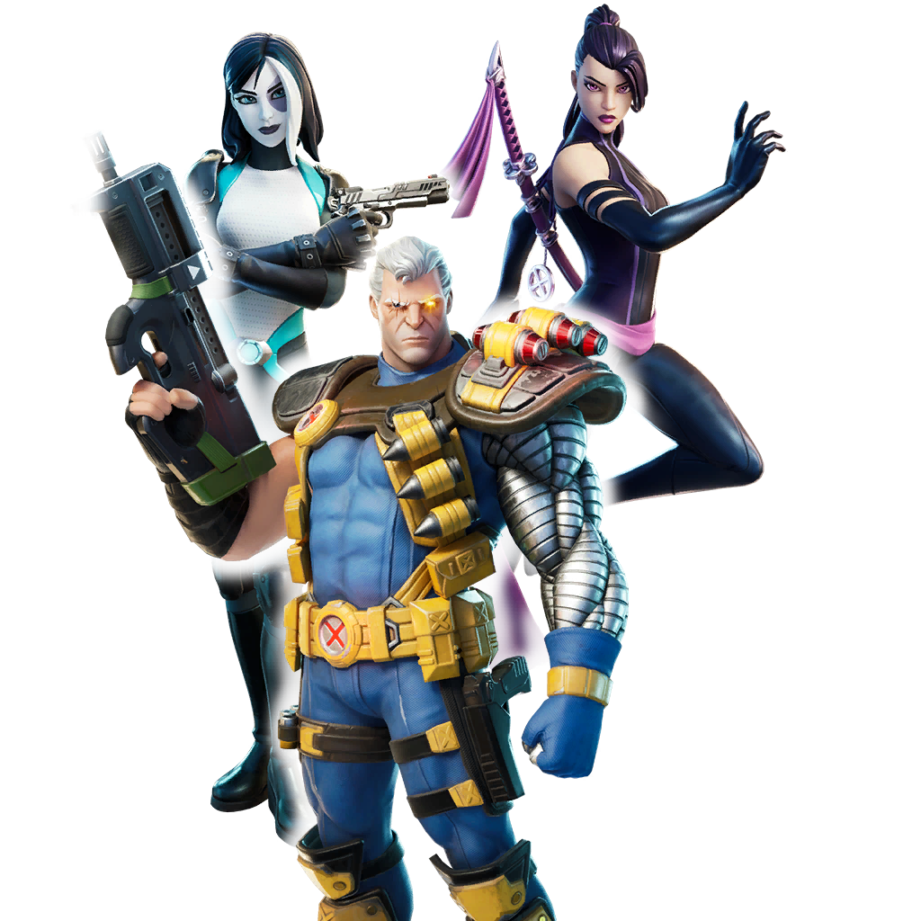 X-FORCE OUTFITS