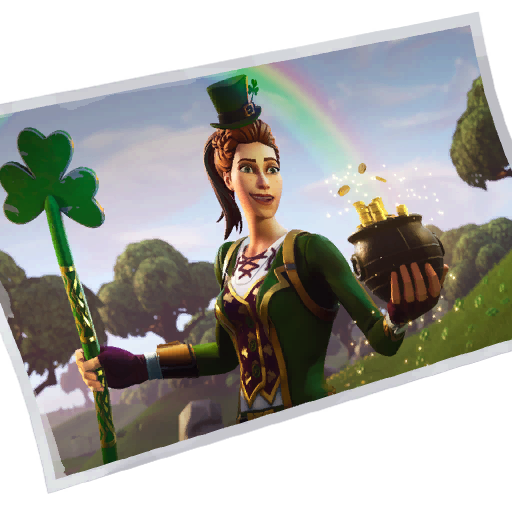Fortnite Sgt. Green Clover loadingscreen