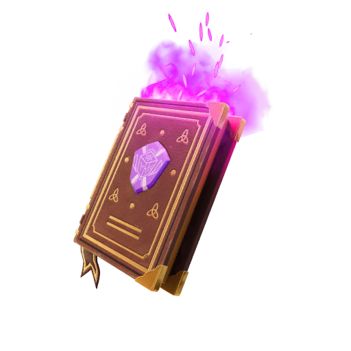 Fortnite The Book of Spells Vol. 3 Backpack Skin