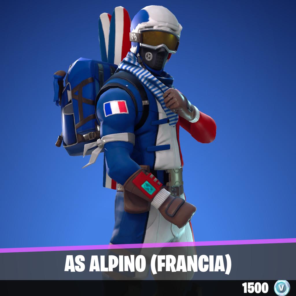 As alpino (FRANCIA)
