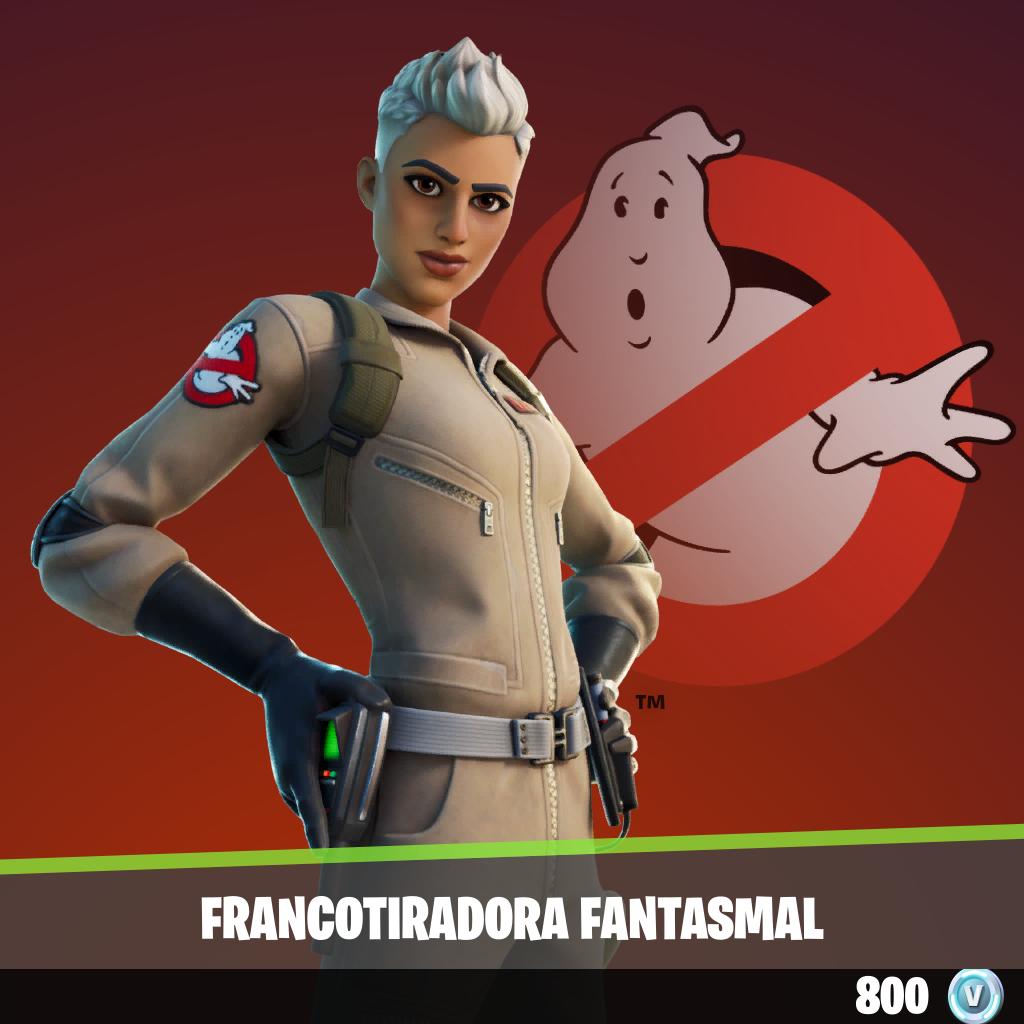Francotiradora fantasmal