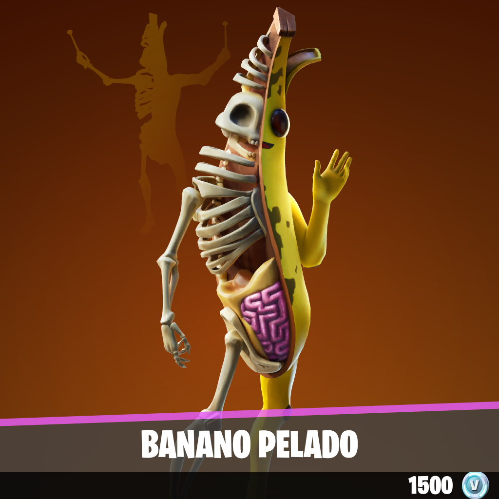 Banano pelado