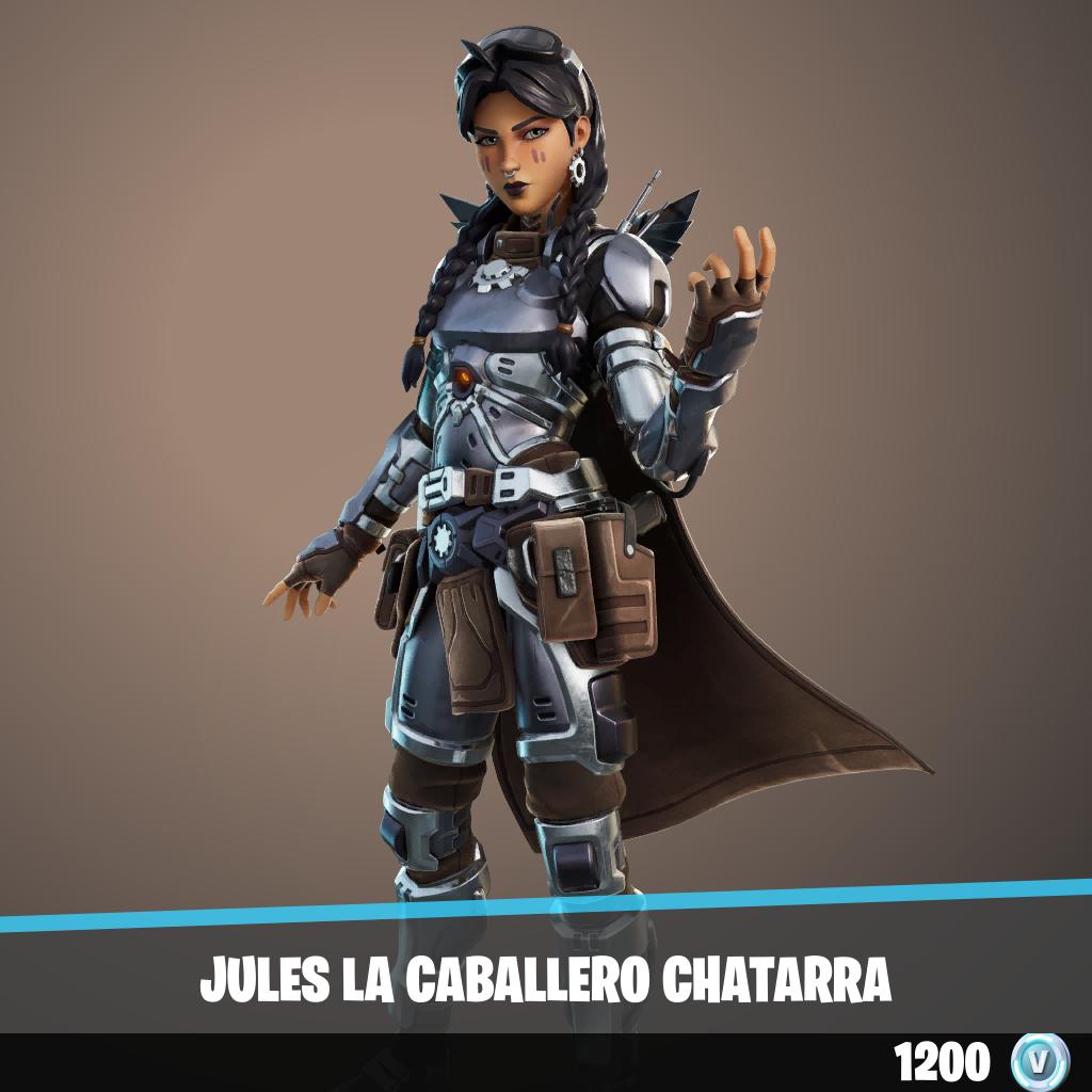 Jules la Caballero chatarra