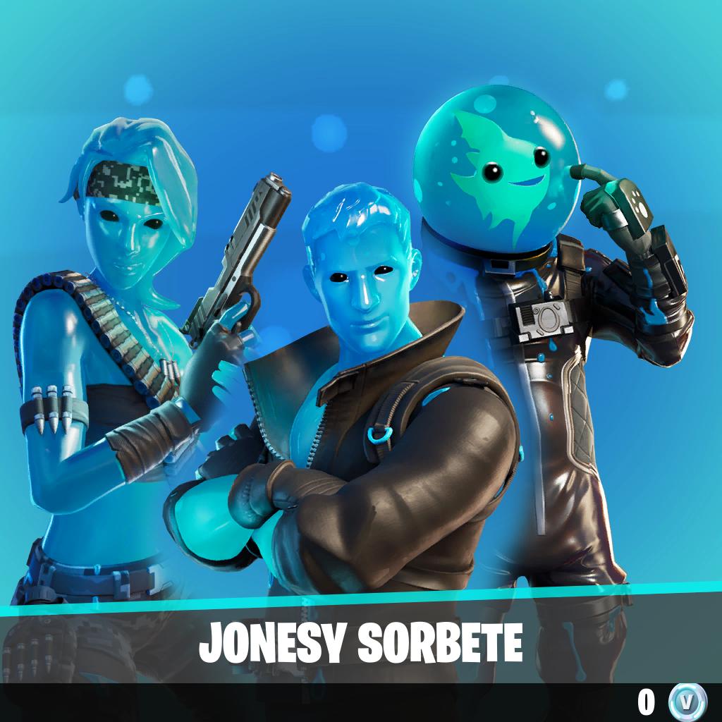 Jonesy sorbete