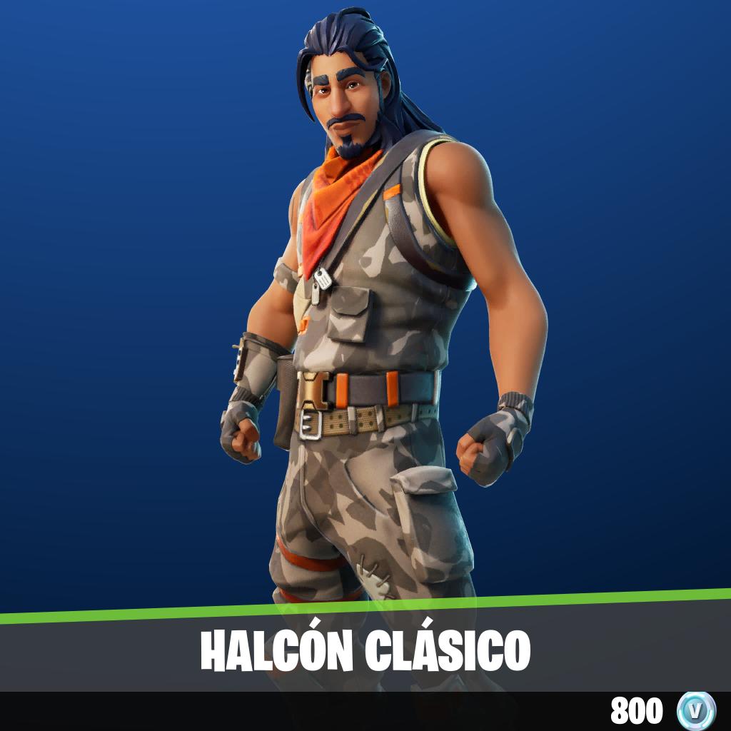 Halcón Clásico