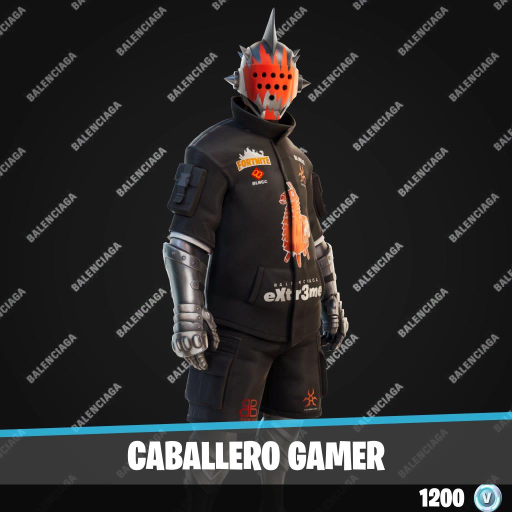 Caballero gamer