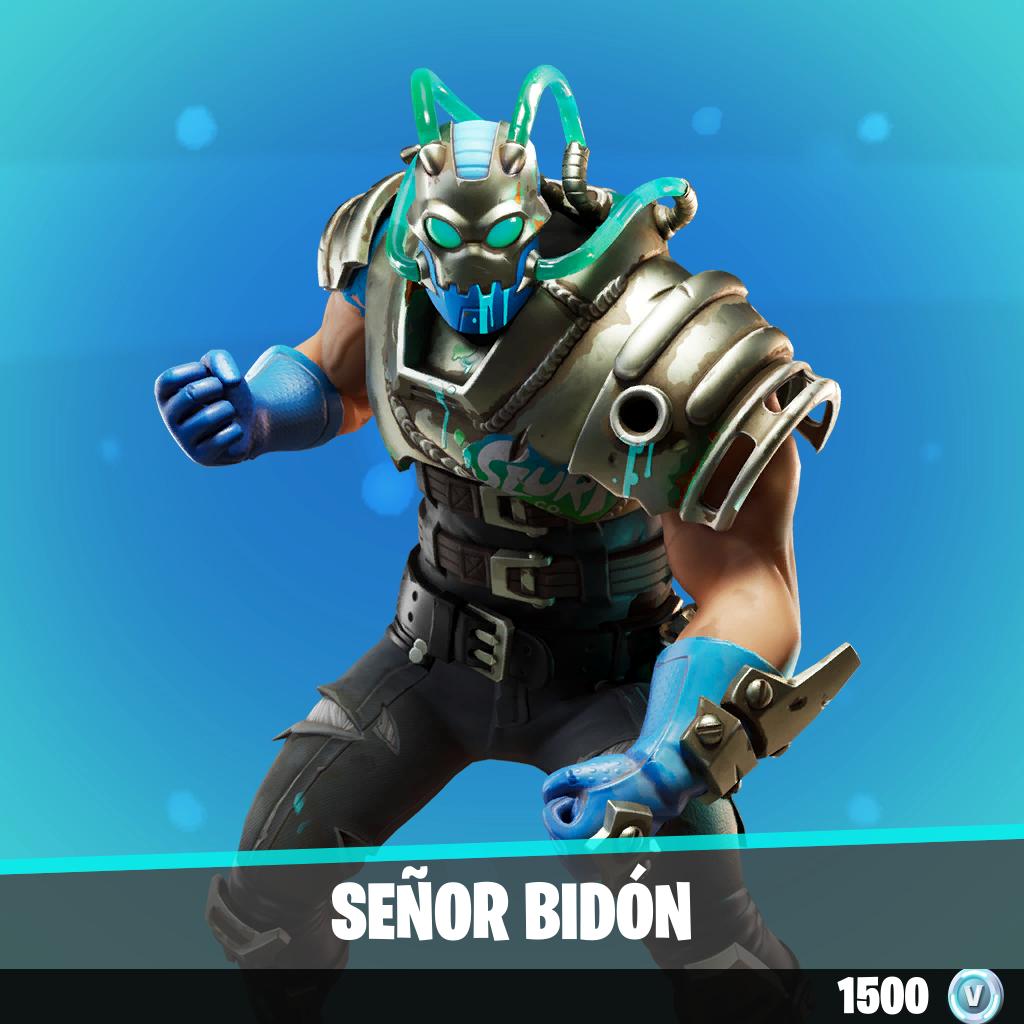Señor Bidón