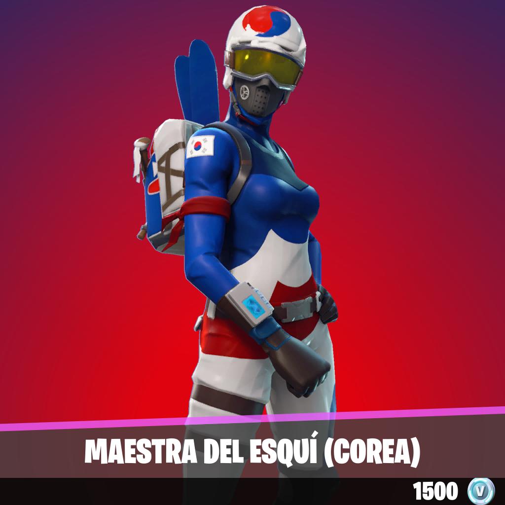 Maestra del esquí (COREA)