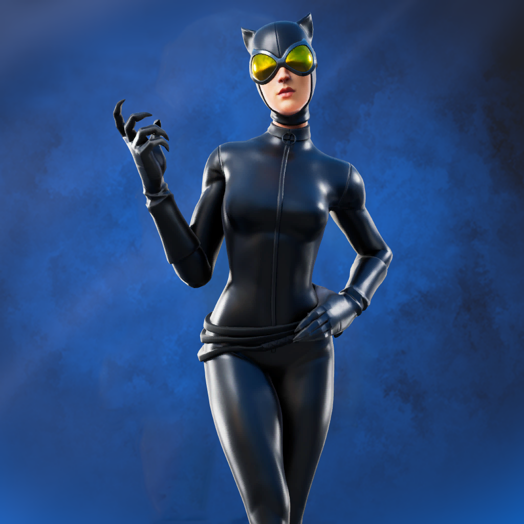 Catwoman Comic Book Outfit skin fortnite item shop