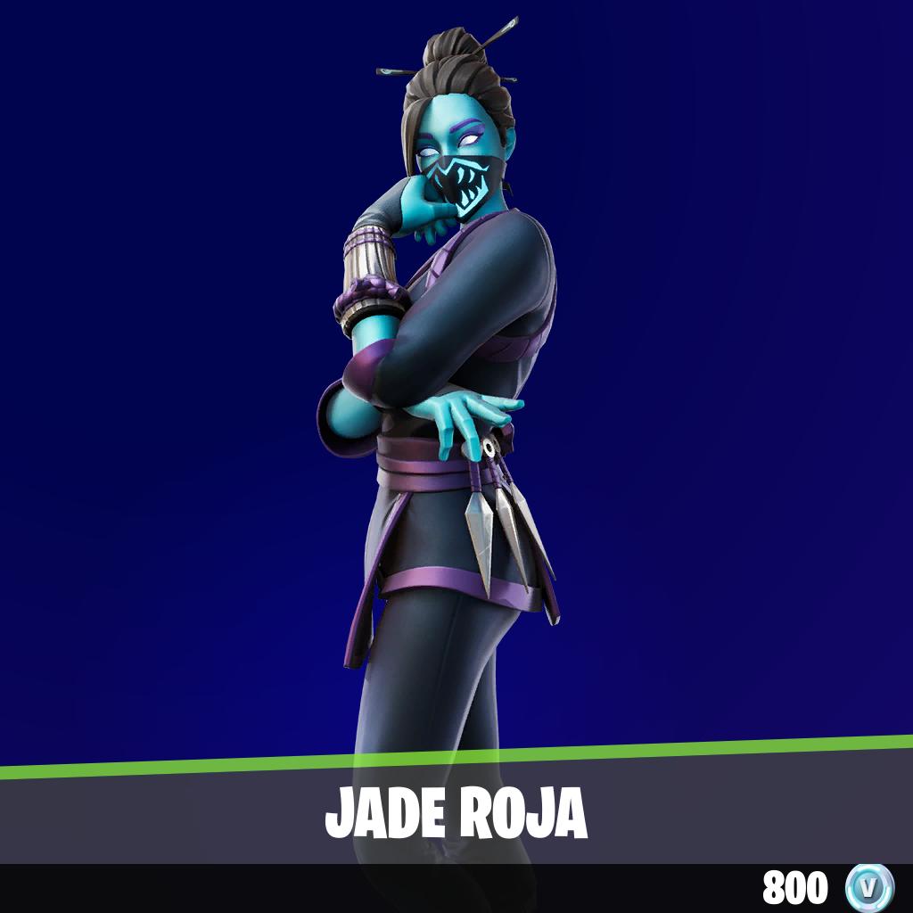 Jade roja