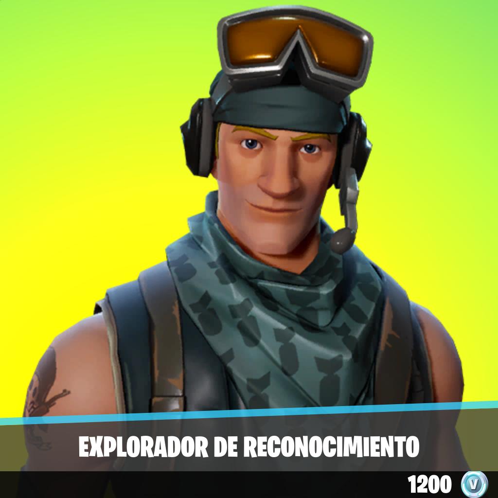 Explorador de reconocimiento
