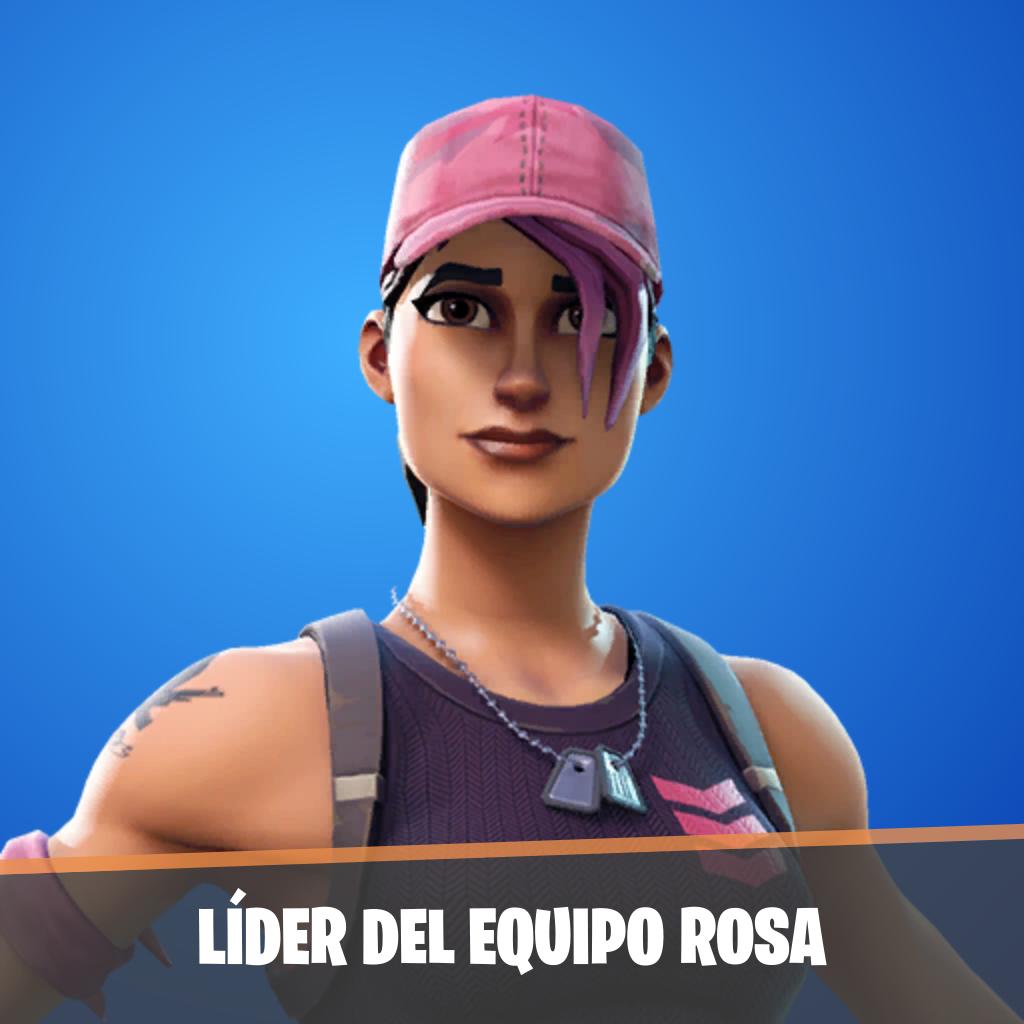 Líder del equipo rosa