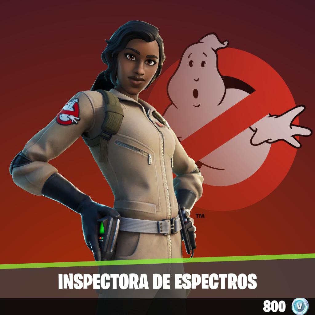Inspectora de espectros