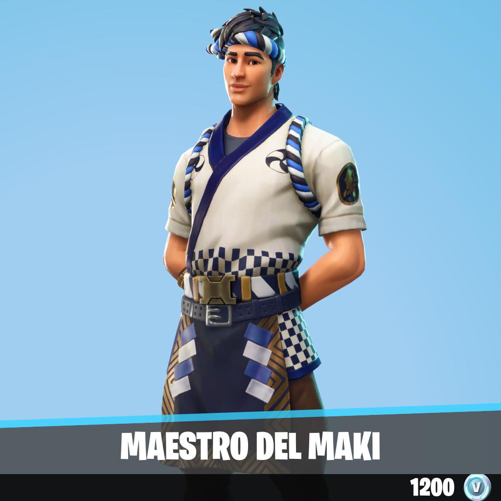 Maestro del maki