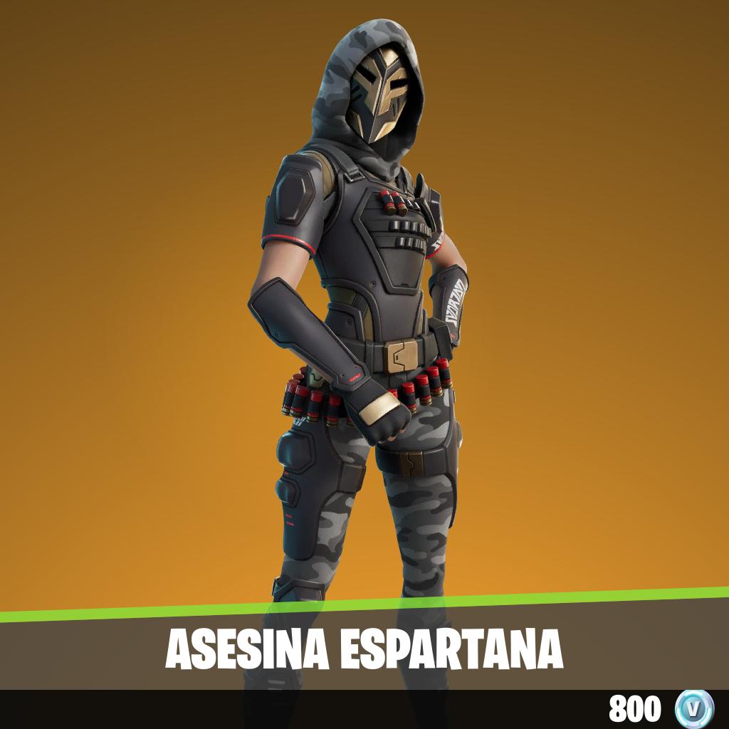 Asesina espartana