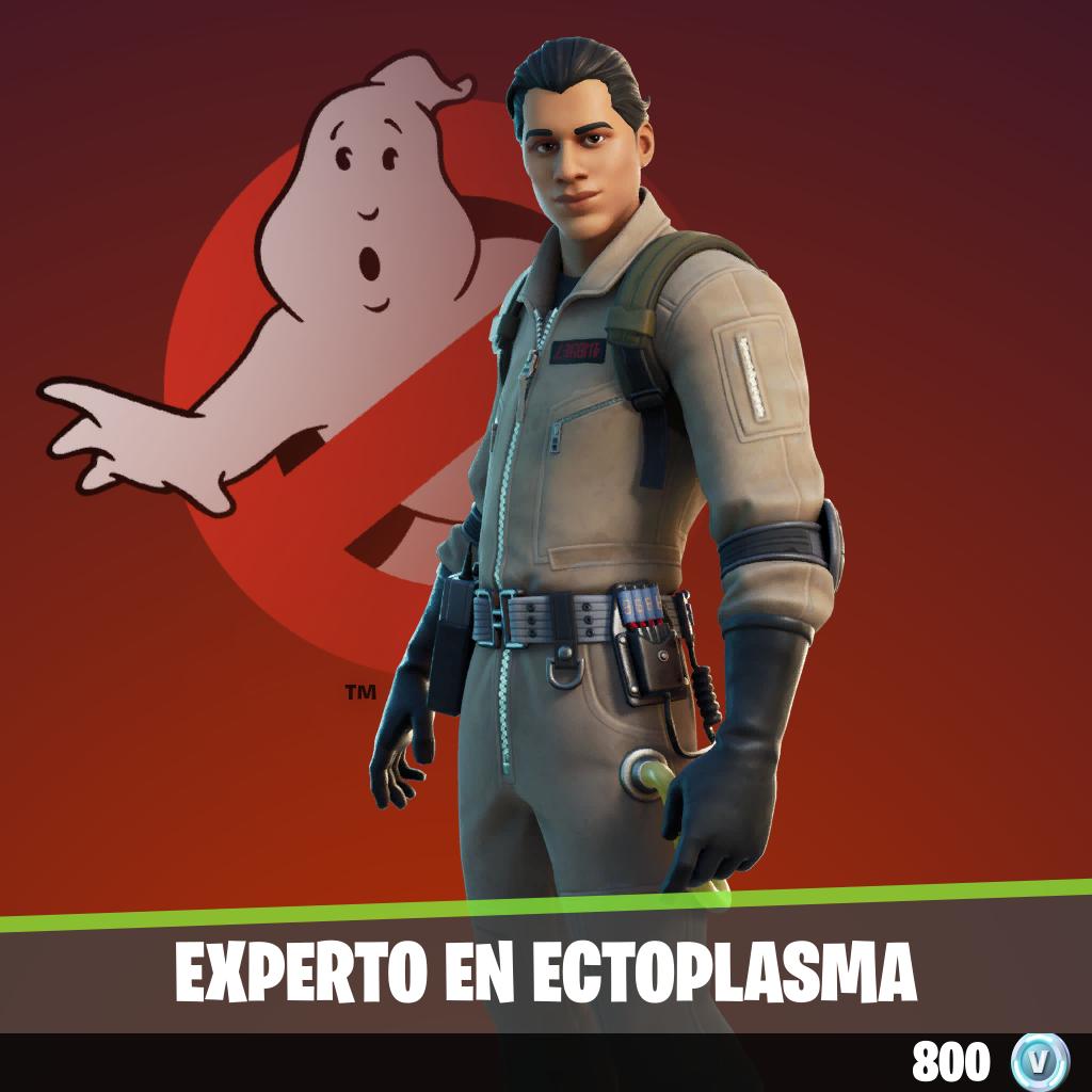 Experto en ectoplasma