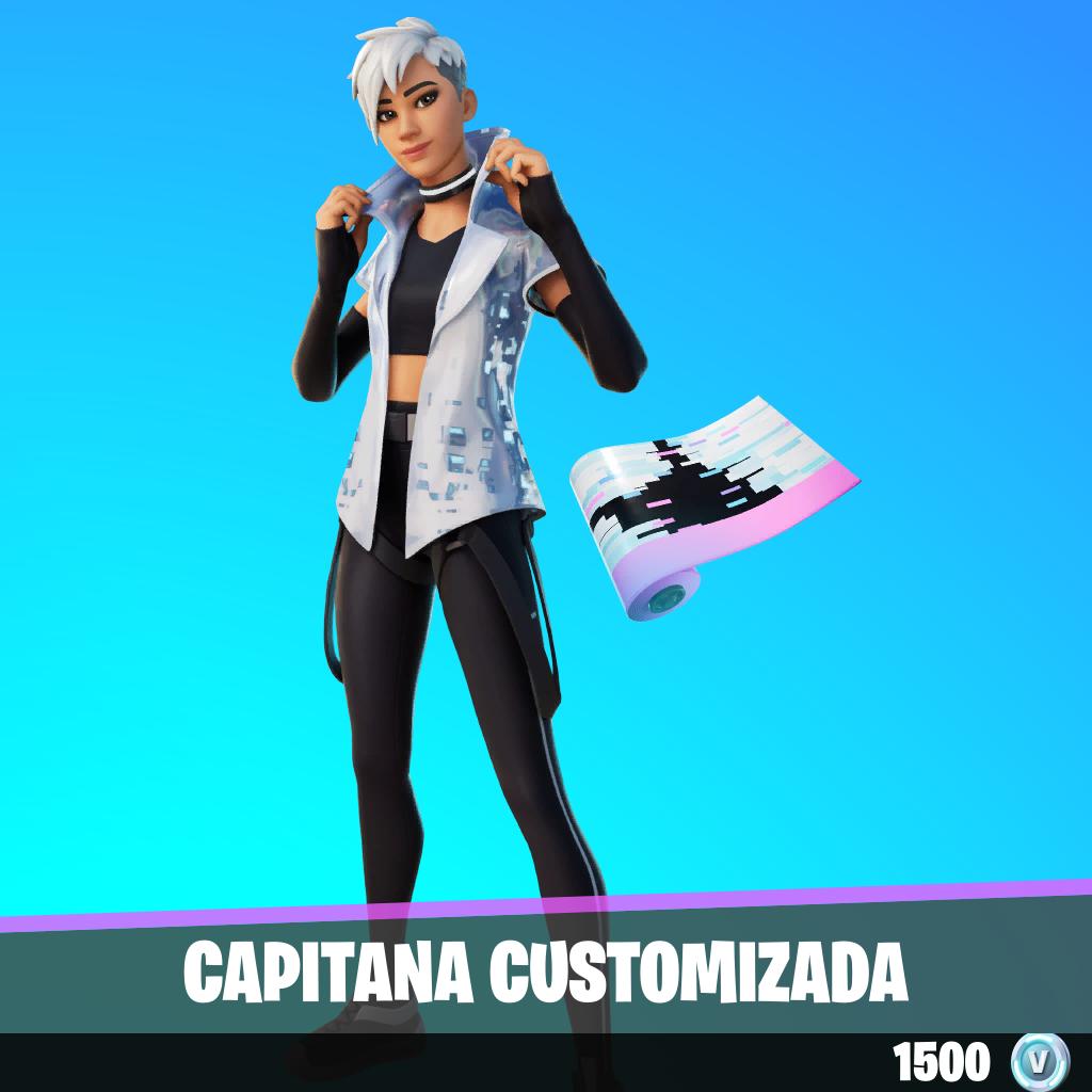 Capitana customizada
