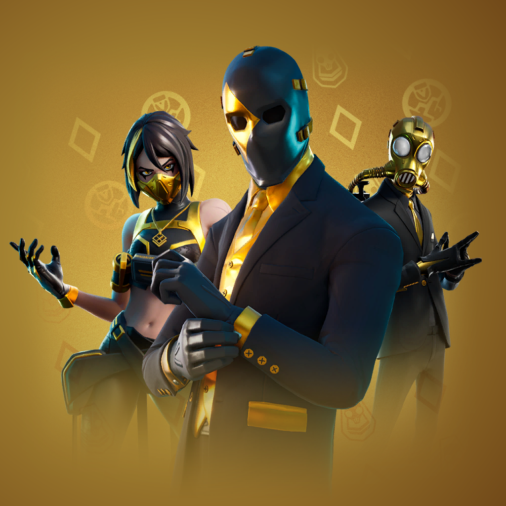 PACK AGENT DOUBLE fortnite pack