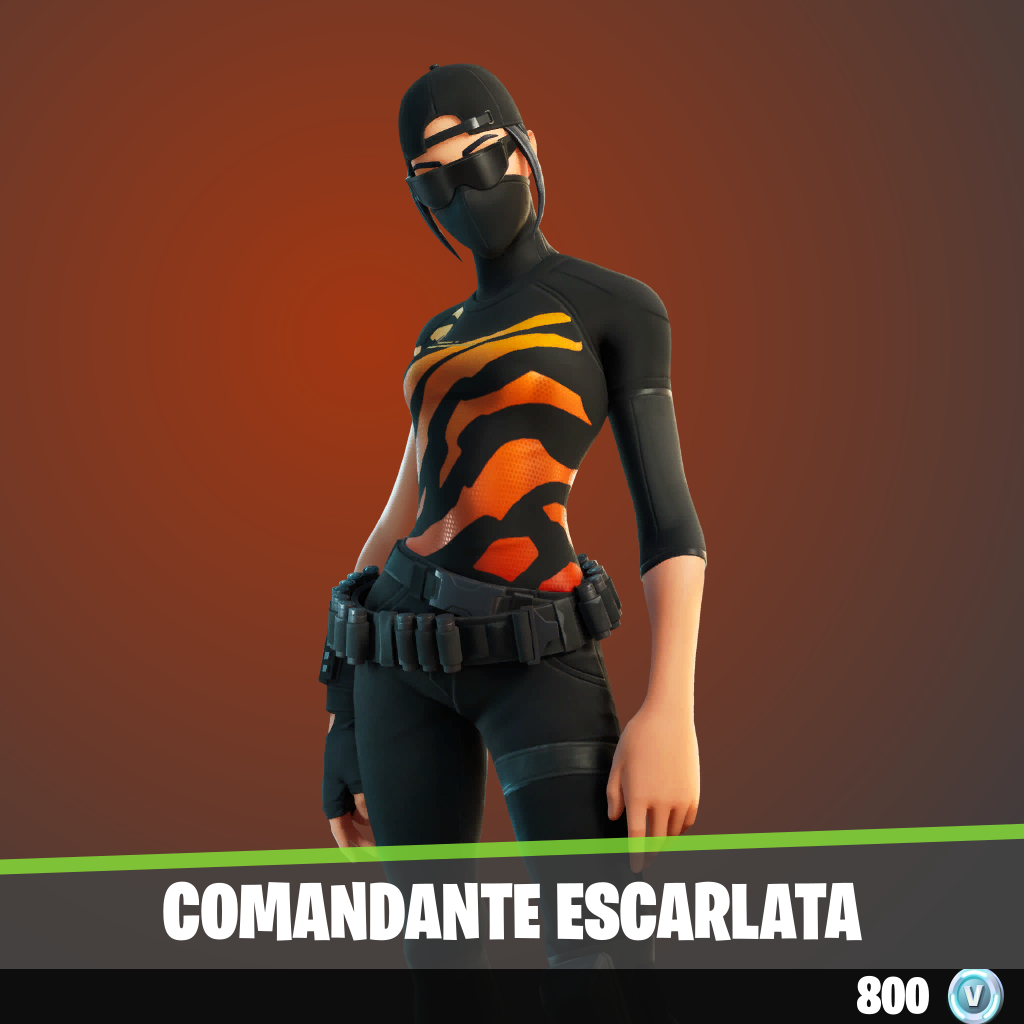 Comandante escarlata