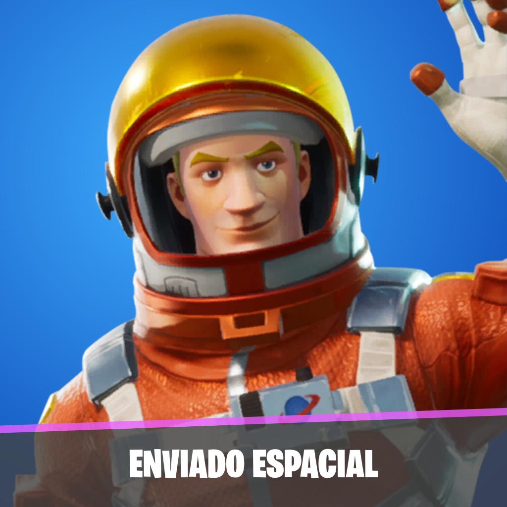 Enviado espacial