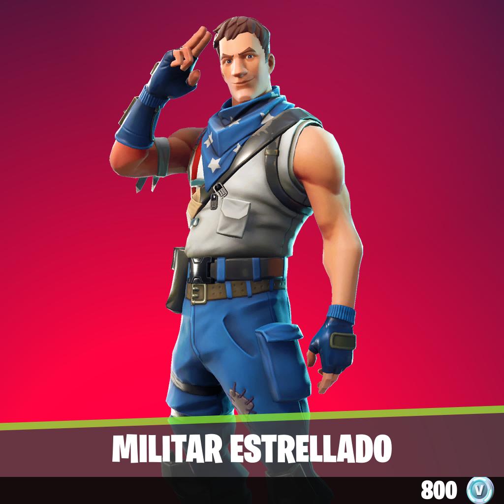 Militar estrellado