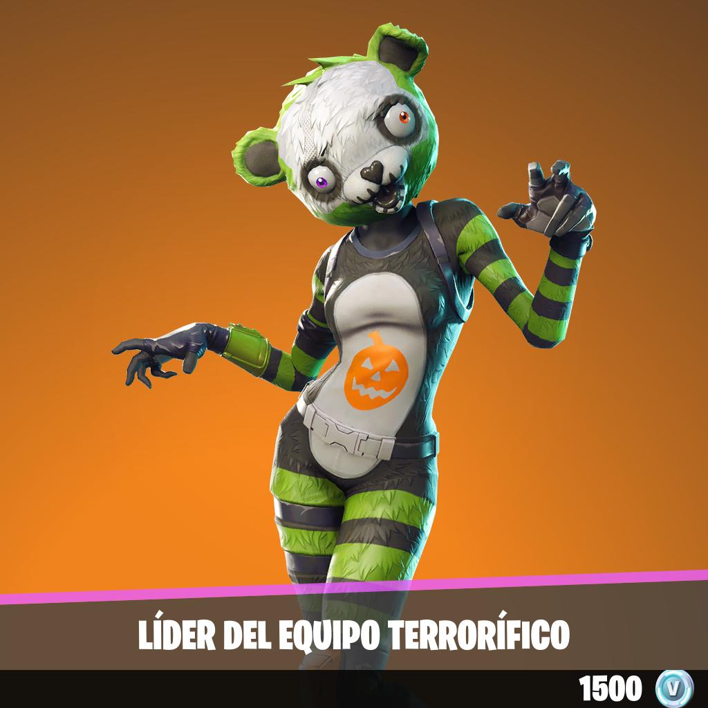 Líder del equipo terrorífico