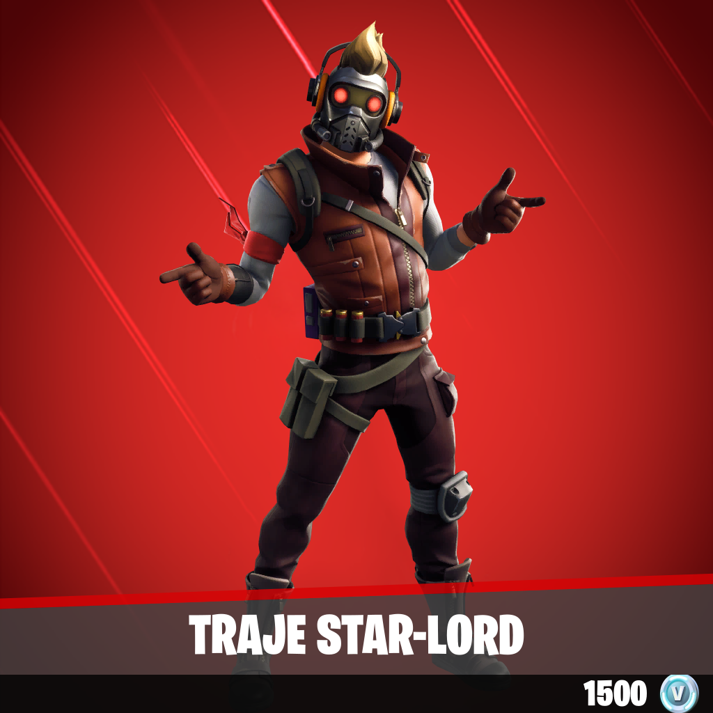Traje Star-Lord
